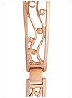 Золотой браслет для часов  5104007 весом 14 г  стоимостью 50386 р.