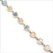 Серебряный браслет, вставка перламутр SL-464-105 весом 10.5 г  стоимостью 3200 р.