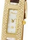 Часы женские наручные с бриллиантами «Инга» AN-90411.101 весом 9.7 г