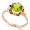 Кольцо с хризолитом SL-0221-311 весом 3.1 г  стоимостью 16200 р.