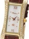 Часы женские наручные с бриллиантами «Элизабет» AN-91711.316 весом 9.5 г