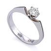 Золотое кольцо с бриллиантами SLV-K342 весом 2.74 г  стоимостью 36000 р.