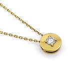 Колье с бриллиантами SLV-23837 весом 2.84 г  стоимостью 58500 р.