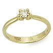 Золотое кольцо с бриллиантами SLY-200-250 весом 2.5 г  стоимостью 49360 р.