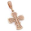 Золотой нательный крест православный SLD-005-380 весом 3.6 г  стоимостью 21240 р.