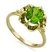 Кольцо с хризолитом  SL-0221-310 весом 3.1 г  стоимостью 15900 р.