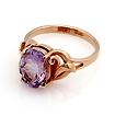 Кольцо с аметистом золотое SL-0249-308 весом 3.2 г  стоимостью 17920 р.