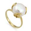 Золотое кольцо с жемчугом SL-2119-487 весом 4.87 г  стоимостью 17100 р.