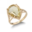 Кольцо с желтым камнем SL-2140-490 весом 4.9 г  стоимостью 18500 р.