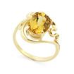 Кольцо с гелиодором в золоте SLK-0280-395 весом 3.96 г  стоимостью 25500 р.