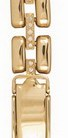 Браслет для часов из золота 546585 весом 20 г  стоимостью 74000 р.